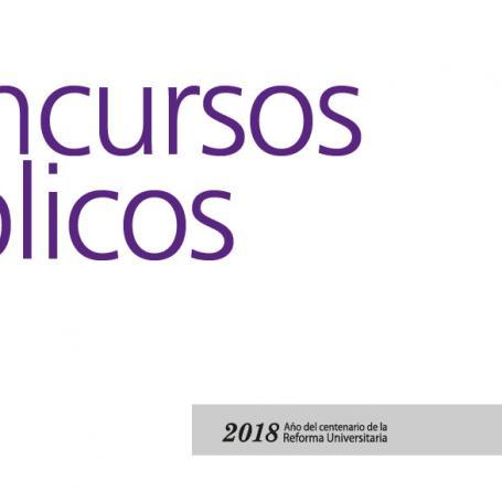 Concursos Públicos y Abiertos de JTP y ACD