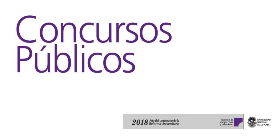 Concursos Públicos y Abiertos en la FAU: Aprobación de dictámenes