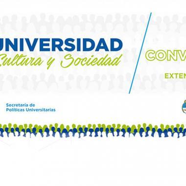 Convocatoria Universidad Cultura y Sociedad 2018 | Prórroga
