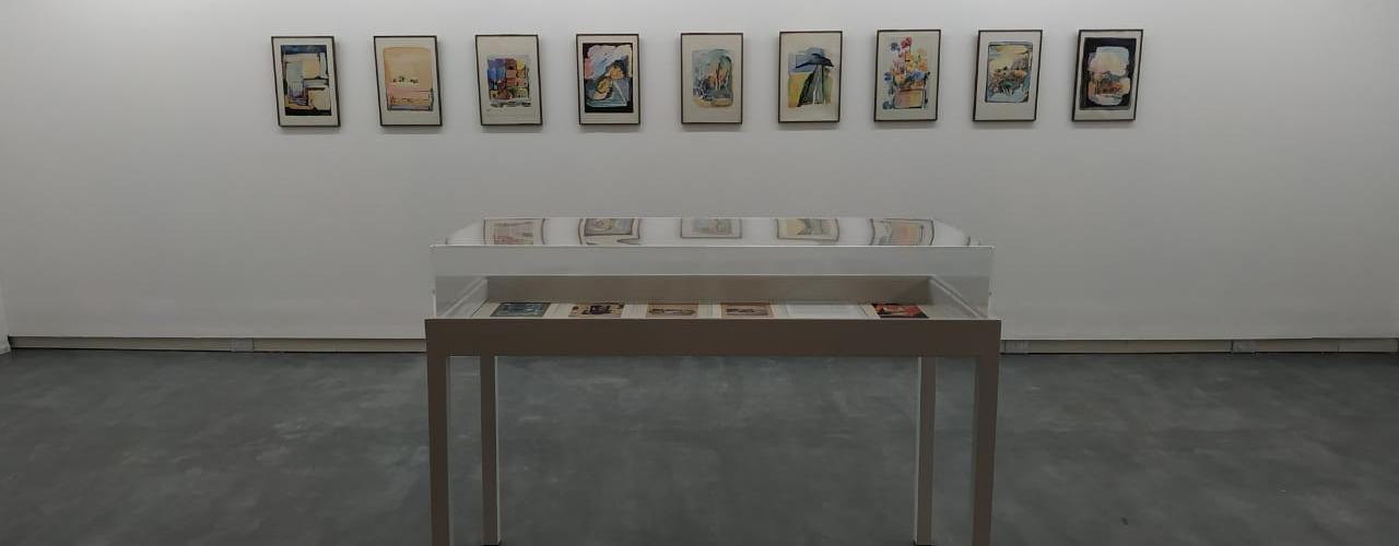 """Inauguró la muestra """"Arte y Arquitectura: la invención de un paisaje"""", de Chel Negrin Rostan"""