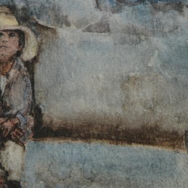 ARTE Y ARQUITECTURA: LA INVENCIÓN DE UN PAISAJE. Acuarelas e infografías de Chel Negrin Rostan