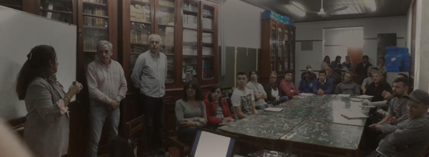 "Comenzó el curso ""Lectura e interpretación de Planos "" en Chascomús"
