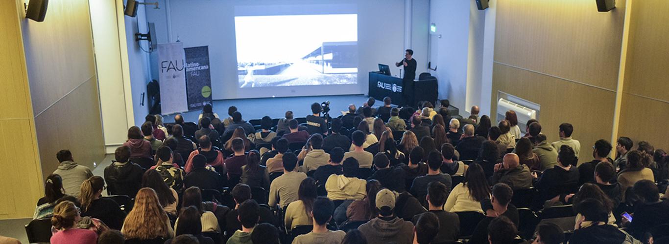 El arquitecto Marcelo Gualano dio cierre al Ciclo de Conferencias de Arquitectura Latinoamericana