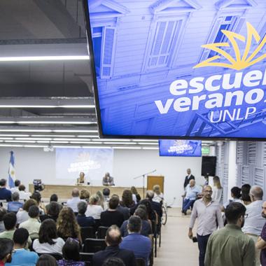 Concluyó la 9na edición de la Escuela de Verano UNLP