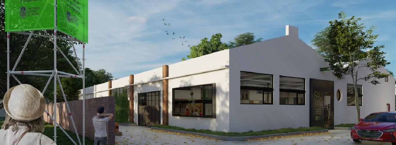 Avances hacia la restauración e intervención de FAUtec, nueva sede de la FAU