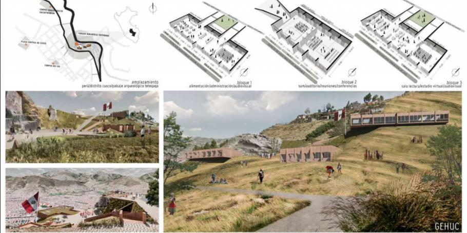 Estudiantes de la FAU y la FADU obtuvieron una mención conjunta en un concurso de arquitectura