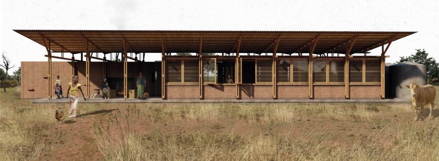 Graduados y graduadas FAU recibieron Mención en un Concurso para la construcción de viviendas en Tanzania