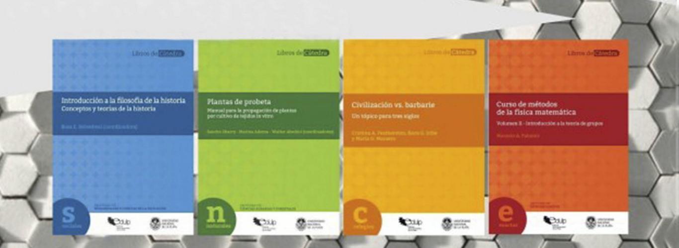 Colección Libros de Cátedra 2020: cierra la convocatoria para la selección de proyectos