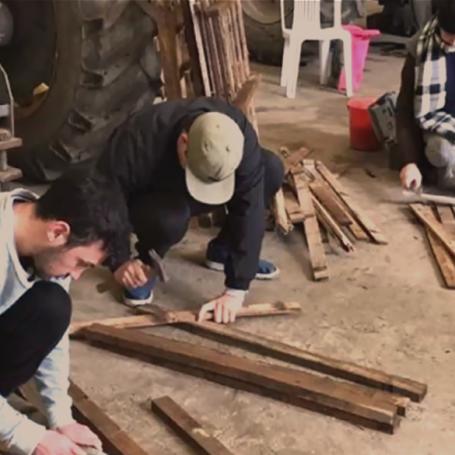 Taller de construcción con pallets, una propuesta de Extensión en 3 municipios bonaerenses