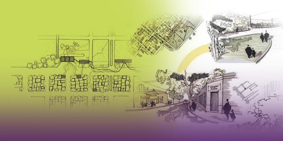 """Inauguró la exposición del Proyecto de Extensión """"Valorización del patrimonio construido mediante el dibujo arquitectónico"""""""